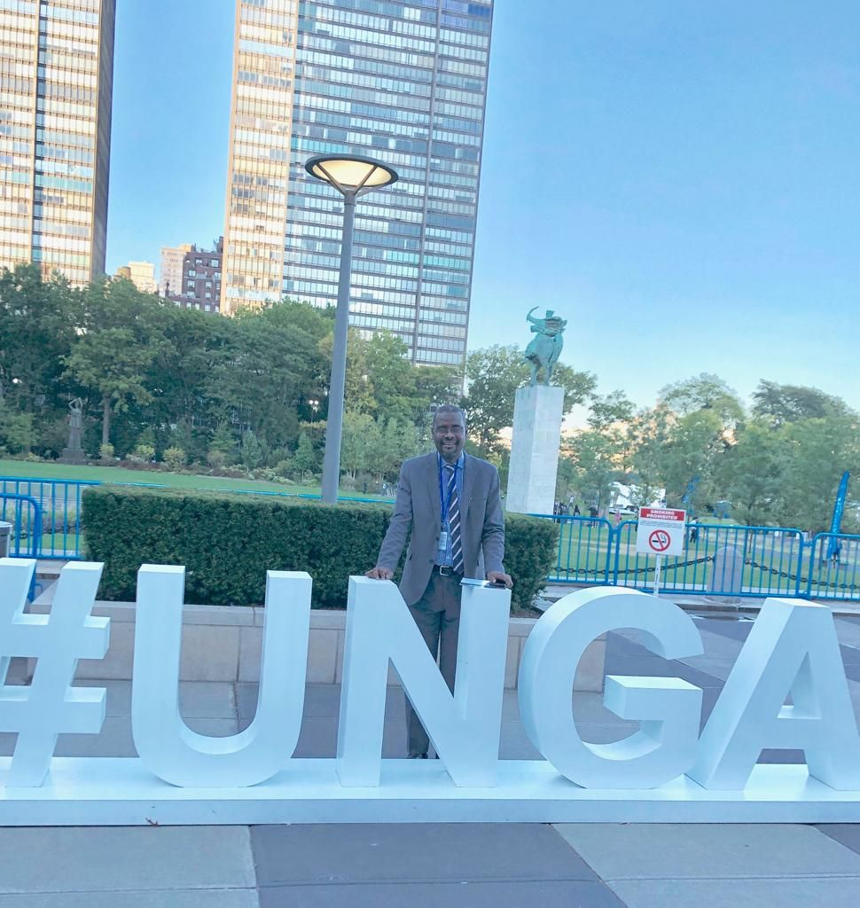 The 74th United Nations General Assembly (UNGA) in New York