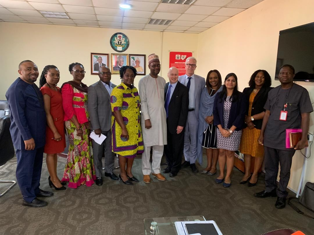 Advocacy visit of Clinton Health Access Initiative to the DG NACA