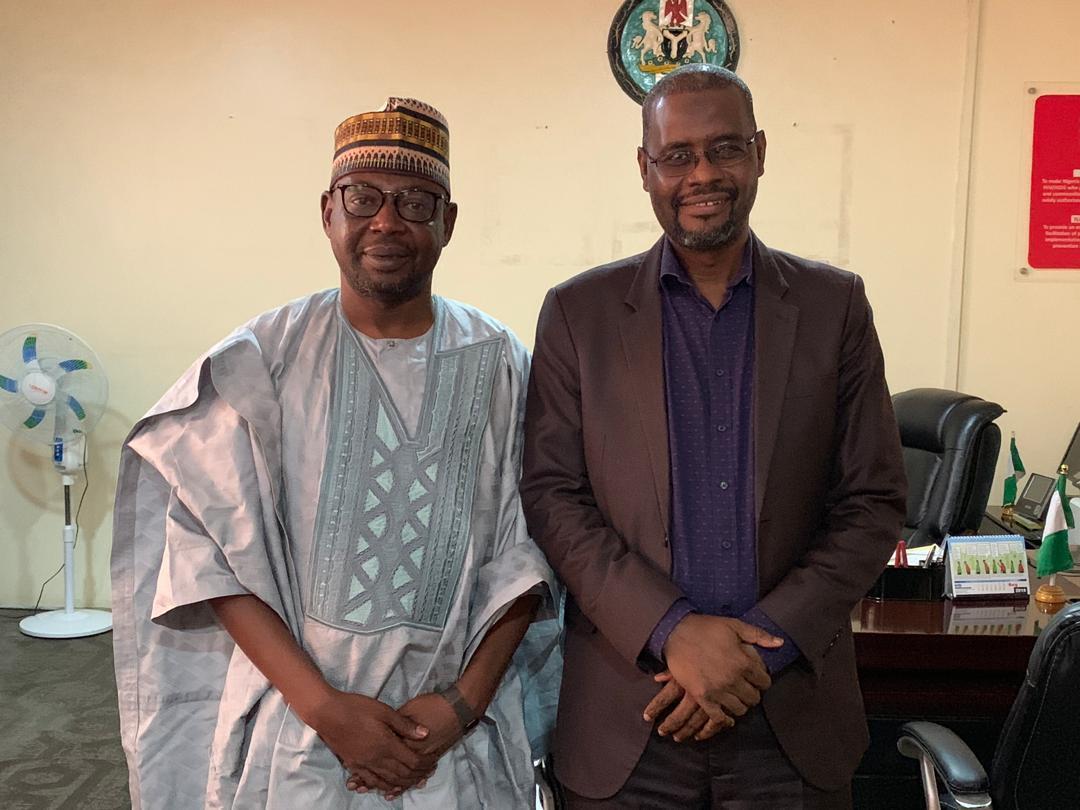 Dr. Gambo Aliyu and  Hon. Abubakar Sarki Dahiru
